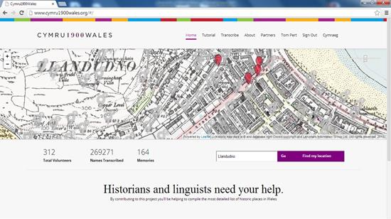 Our Data Sources: The Cymru1900 project